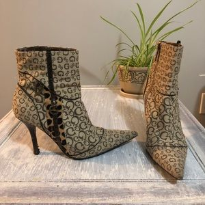 Vintage Guess Ankle Boots